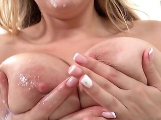 Deep in and out fantasy porn for busty Candy Alexa