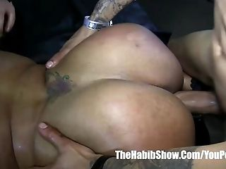 Macana and donny gangbanged thick mixed dominian rican leona banks freak