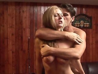 Blonde Avy Scott gets a pussy slamming