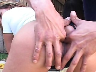 Outdoor farm sex with the perfect wife who's pussy is soaking wet