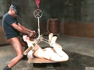 Bella Rossi is a nasty redhead and BDSM session is all she wants