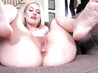 Creampie ending after wild fucking in afternoon with Kennedy Kressler