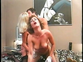 Blonde, Blowjob, Cumshot, Group Sex, Vintage,