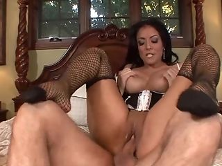 Kiara Mia finally gets to bounce on a cock while she moans loudly