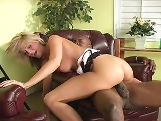 Blondie Spring Thomas receiving a black boner in her fuck hole