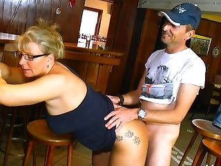Sexual delight for a fat ass mature