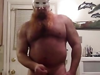 Str8 masked daddy bear