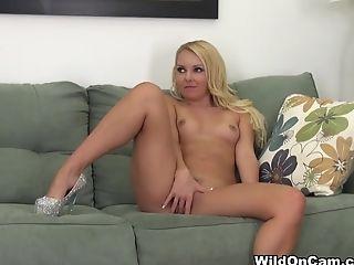 Hottest pornstars Aaliyah Love, Dani Daniels in Fabulous Blonde, Natural Tits adult video
