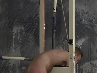 Submissive Cameron James endures anal torment by skinny homo