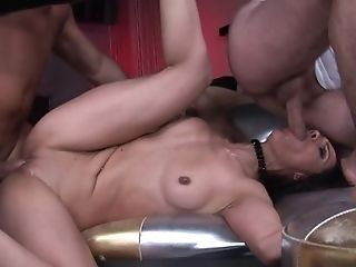 Brunette chachita takes cum shot on her eager face