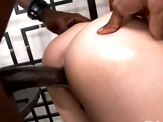 Bootyful European GF Bianca Breeze sucks BBC and then gets doggy fucked tough
