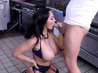 Staggering scenes of heavy sex with busty mom, Ava Addams