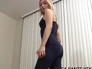 Doing my yoga always makes you so horny JOI