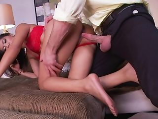 Teen makes a dirty dream of never-ending cock sucking a reality