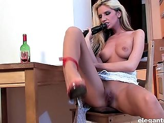 Her name is Bambi Stewart and she loves the elegant masturbation