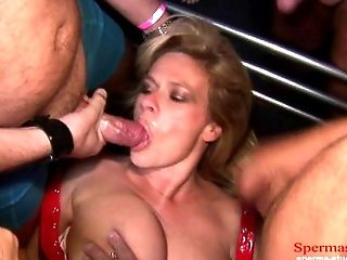 Multiple Cumshots Orgy - Marina Part 1 ----------
