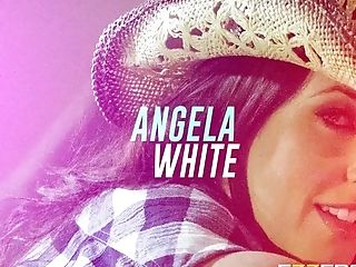 Angela White In Midnight Cowgirl