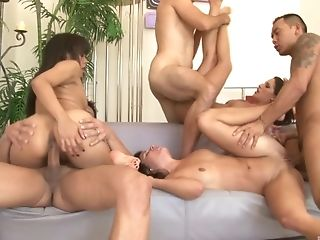 Annie Cruz, Groepsseks, Hardcore, Kortney Kane, Orgy, Swinger,