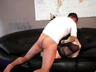 Getting pounded by a handsome guy makes Tina Fleur moan loudly