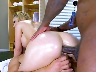 Hot beauty double fucked and made to swallow like a whore