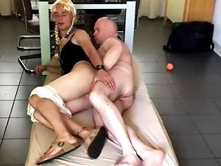 Amateur, Bareback, Blowjob, Crossdressing, Guy Fucks Shemale, Old, Shemale,
