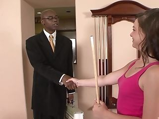 Leenuh Rae offers her amazing curves to a black lover