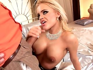 Britney moaning from having her pussy penetrated deep and hard